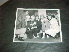 1973 Atlanta Braves March of Dimes Baseball Photo Phil Niekro Eddie Mathews Reed