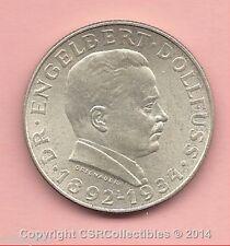 Austria - 2 Schilling - 1934 - KM# 2852 - 0.6400 Silver