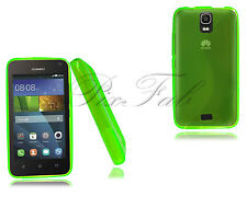 For Huawei Ascend Y3 Y360 Y336 New Gel Silicone Rubber Phone Case + Screen Guard