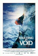 TOUCHING THE VOID MOVIE POSTER ~ CLOSER 27x40 Mountain Climbing