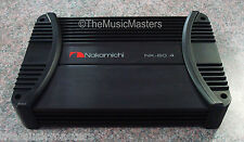 NEW Nakamichi NK-60.4 Amplifier 1000W 4CH Car Audio Sub Speaker Stereo Power Amp