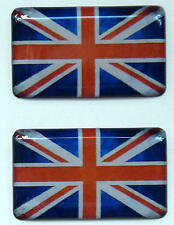 Triumph Legend Adventurer Thunderbird 900 Union Jack 3D Doming Aufkleber 2 St.