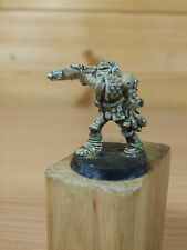 CLASSIC METAL ROGUE TRADER ERA SPACE MARINE WITH LASCANNON PAINTED (2253)
