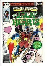 MARVEL PREMIERE # 44 (JACK OF HEARTS, OCT 1978), VF/NM