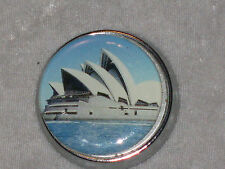 Sydney Opera House Travel Sewing Kit Metal Case Handy Repair Purse Briefcase NEW
