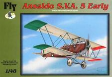 ANSALDO SVA.5 EARLY (REGIA AERONAUTICA MARCATURE) 1/48 FLY RARITA