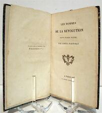 COSTE D'ARNOBAT : Les hommes de la Révolution peints d'après nature - 1830 Relié