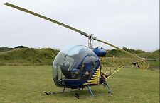 Canadian Home Rotors Safari-400 Kit Helicopter Model Replica Large Free Shipping