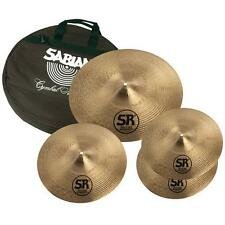 "Sabian SR2 Performance SR5003C Cymbal Set Pack with Free Bag (14""/16""/20"")"