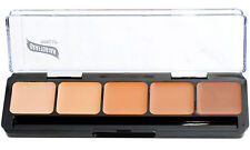Graftobian HD Glamour Creme Palette, Warm #3, All Skin Types, Cruelty Free