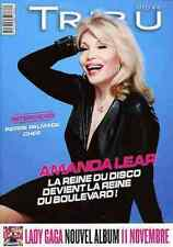 AMANDA LEAR Disco Queen Lady Gaga CHER french Gay Magazine Tribu Move