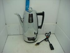 VINTAGE ELECTRIC SEARS KENMORE PERCOLATOR COFFEE MAKER  #31167110