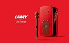 KOREA-LINE&FRIEND BROWN-Limited Edition-LAMY COLLECTION-SPECIAL-FOUNTAIN PEN