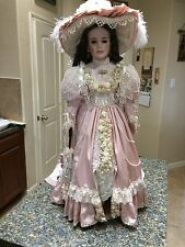 Gorgeous Porcelain Doll 32'' by Thelma Resch-Designer Guild Collection-Lady Jane