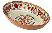 Epicurean Mediterranean Oval Melamine Serving Bowl Dish 33x23cm Party BBQ Food