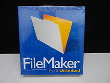 Filemaker Pro 5 Unlimited für Windows und Macintosh