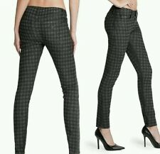 guess Brittney Ankle Skinny Houndstooth Printed Jeans size 25