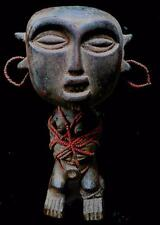Old  Tribal Pygmy Ancestor Figur  with Shaking seeds in head    - Cameroon BN 25