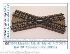 EE 5016 EXC Maerklin Märklin Marklin HO 3R 3 Rail 30 Crossing aka 3600K