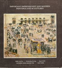 Sotheby's / Impressionist Modern Paintings w/ Hammer Prices Auction Catalog 1978