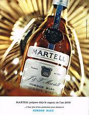 PUBLICITE  1971   MARTEL  cognac CORDON BLEU