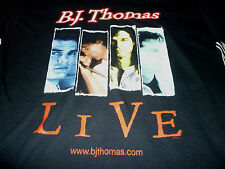 B.J. Thomas Autographed Shirt ( Used Size M ) Very Nice Condition!!!