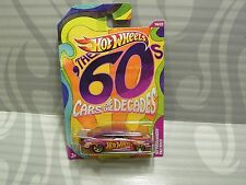 "2012 HOT WHEELS ""CARS OF THE DECADES'' = `65 VOLKSWAGEN FASTBACK = PURPLE"