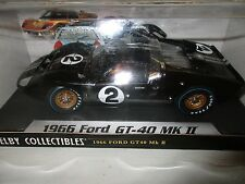 Shelby Collectibles Legend Series 1966 Ford GT-40 MK Black # 2 1/18 NRFB