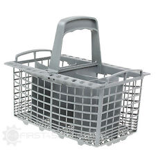 For Indesit Dishwasher Drawer Cutlery Basket 230mm x 180mm x 220mm (Grey)