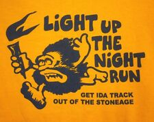 "IDA HIGH SCHOOL small Michigan T shirt ""Out of the Stoneage"" tee Bluestreaks"