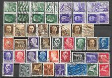 1929/43 REGNO  lotto di francobolli serie imperiale posta aerea propaganda usati