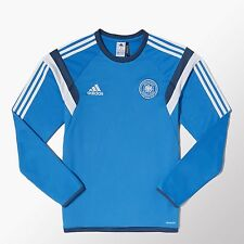 Adidas DFB Allemagne training shirt bleu 2014 Germany-size M-MERCEDES BENZ