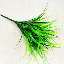 Artificial 2016 7 fork Green Grass Flowers Plants Household Decoration Charm
