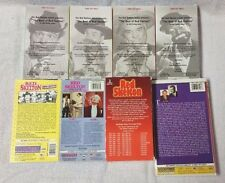 Lot 9 RED SKELTON 9 Vhs Videos BEST OF 1 2 3 Christmas Documentary Lost Episodes