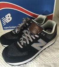 New Balance 574 Shoes Mens 10 Black/ Gray New In Box