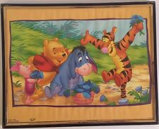 WINNIE THE POOH, TIGGER, PIGLET AND EEYORE 8X10 FRAMED PICTURE ( poster )