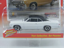 Chevy Chevelle Malibu 1967 in weiss,Johnny Lightning Muscle Cars USA Rel.1, 1/64