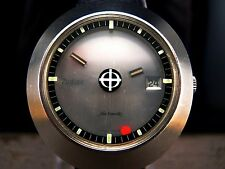 Rare 1975 ZODIAC MYSTERY DIAL 40mm Automatic 88D AS 1687 Vintage RETRO Watch