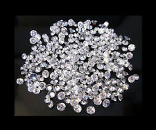 50 STONES OF 1MM EACH ROUND BRILLIANT LOOSE WHITE POLISHED DIAMOND 0.25TCW FG-I1