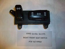 1995 Seville STS SLS Right Front Seat Switch Pt# 16719960    OEM  #HS005