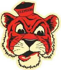 CLEMSON  University  - TIGERS   Vintage-Looking   Travel Decal  Sticker