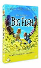 Big Fish DVD Ewan McGregor Albert Finney New and Sealed Original UK Release R2
