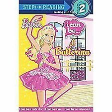 I Can Be a Ballerina (Barbie) (Step into Reading), Webster, Christy, Good Book