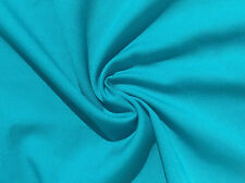 "60"" Teal Blue Tencel Lyocell Rayon Light Gabardine Twill Fabric By The Yard"