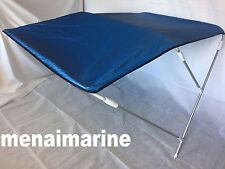 RIB / BOAT BIMINI CANOPIES WITH OVERALL COVER ADJUSTABLE WIDTH 160cm to 175cm