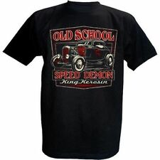 "King Kerosin ""Old School Speed Demon"" T- Shirt Hotrod S"
