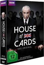 6 DVD-Box ° House of Cards ° Miniserien Trilogie ° Staffel 1 + 2 + 3 ° NEU & OVP