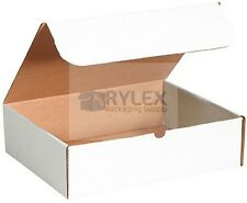 50 - 6x6x6 White BoxCorrugated Shipping Boxes Moving Storage Cartons Cardboard