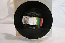 Loretta Lynn Journey to The End Of My World/ I Know How Decca RPM 45 Country