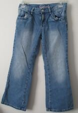 Girl Gymboree 8 Plus Bootcut Jeans 8 1/2 Adjustable Waist Denim Stretch VGUC